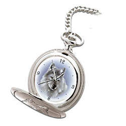 Legends of The Wild Wolf Art Pocket Watch