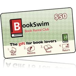 Christmas $50 BookSwim Gift Membership with Bonus Gift