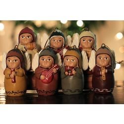 'Angel Orchestra' Ceramic Ornament Set