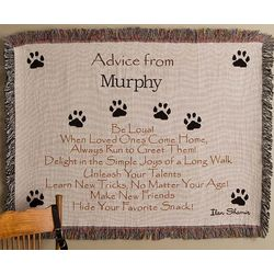 Personalized Advice From A Dog Afghan