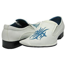 Men's White Fashion Loafers