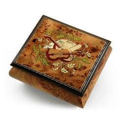 Handcrafted Musical Instrument Music Box