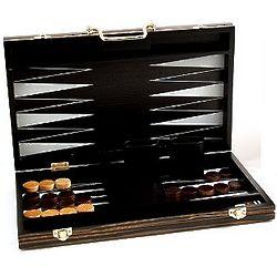 15 Inch Wooden Backgammon Set