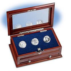Three Centuries of U.S. Silver Half Dollars Coins