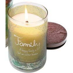 Family Warm Words Candle