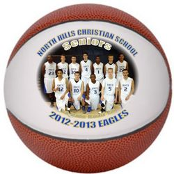 Personalized Photo Basketball
