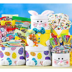 Easter Bunny Sweets Gift Tower