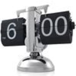 Retro Auto Flip Down Battery Clock