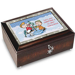 A Charlie Brown Christmas 50th Anniversary Music Box