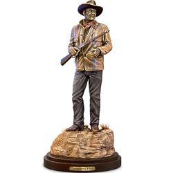 John Wayne Standing Tall Cold Cast Bronze Sculpture