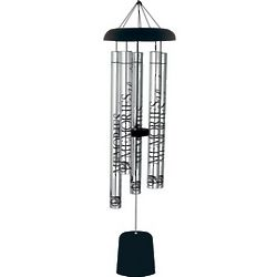 Memories Sympathy Wind Chime with Personalized Wind Sail