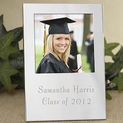 Graduation Engraved Picture Frame