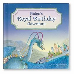 My Royal Birthday Adventure Book for Boys