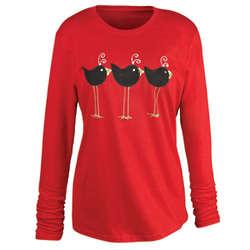 Lil' Birds All in a Row Longsleeve T-Shirt