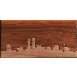 Large Wood Skyline Routing Wall Panel