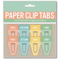 Odd/Ends Paper Clip Tabs