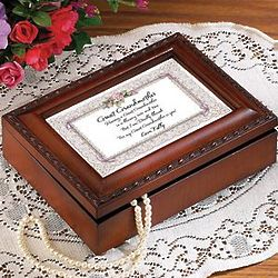 Amazing Grace Personalized Great Grandmother Music Box