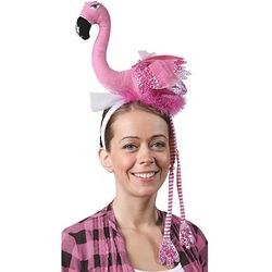 Plush Flamingo Headband