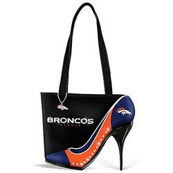 Kick Up Your Heels Denver Broncos Handbag
