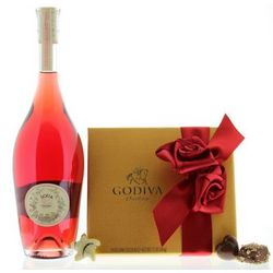 Sofia Rose and Godiva Valentine Chocolates Gift Set