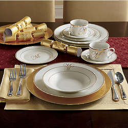 Signature Monogram Dinnerware Set