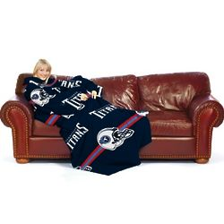 Tennessee Titans Comfy Throw Blanket