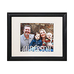 Personalized Name Cut-Out Frame