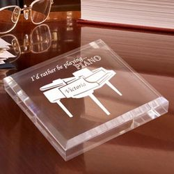 Personalized Piano Keepsake & Paperweight