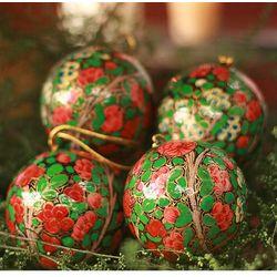 'Holiday Exuberance' Ornament Set
