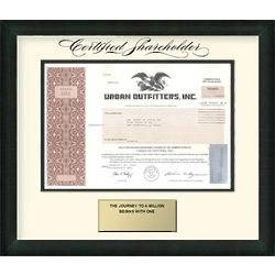 Urban Outfitters Stock Certificate