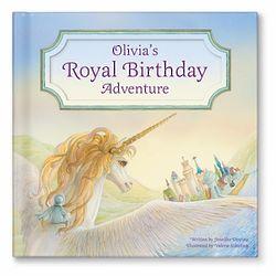 My Royal Birthday Adventure Book for Girls