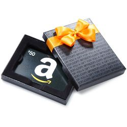 Amazon.com Gift Card in a Gift Box