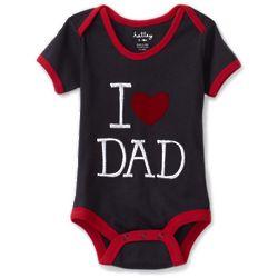 I Love Dad Onesie
