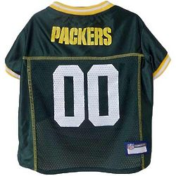 Packers Green Pet Jersey