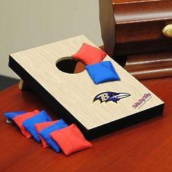 Baltimore Ravens Table Top Mini Bean Bag Toss