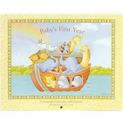 Baby's First Year Noah's Ark Calendar