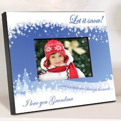 Snowscapes Personalized Picture Frame
