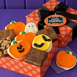 Halloween Cookies and Brownies Gift Box