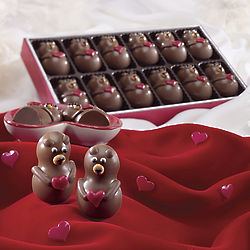 Teddy Bear Meltaway Chocolates