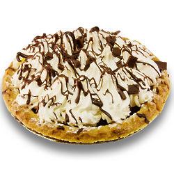 Chocolate Cream Pie with Whipped Cream