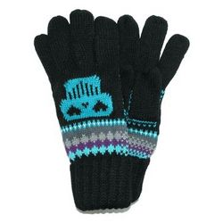 Women's Sugar Skull Winter Gloves