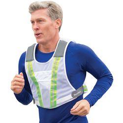 Runner's Reflective Speaker Vest
