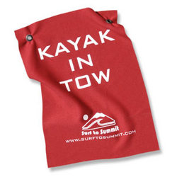 Kayak In Tow Flag
