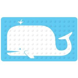 Whale Design Bath Mat