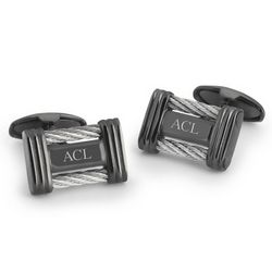 Personalized Cable Cuff Links