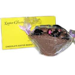 Temo Solid Chocolate Easter Basket
