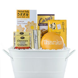 Thanks Assorted Cookie Gift Basket