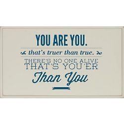 You Are You Plaque