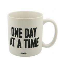 One Day at a Time Inspirational Quote Mug