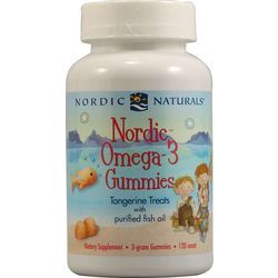 Children's Omega-3 Tangerine Gummy Dietary Supplements